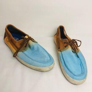 VANS Ombre Sneakers Flats Shoes ((size 9))